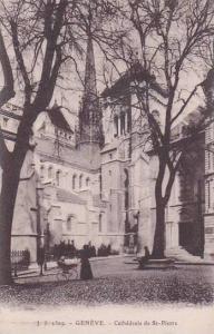 Schweiz Geneve Cathedrale de Saint Pierre