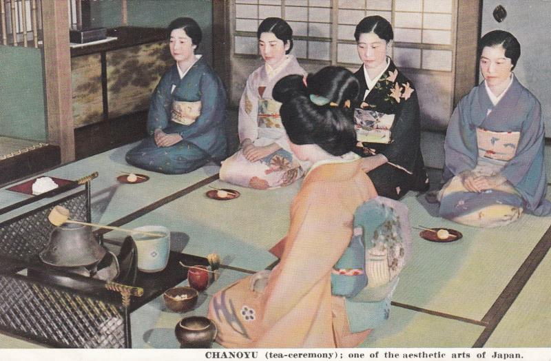 CHANOYU, tea ceremony: one of the aesthetic arts of Japan, 00-10s