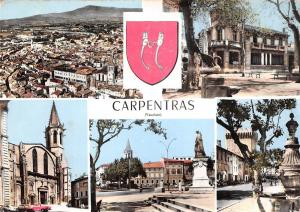 France Carpentras (Vaucluse) multiviews souvenir CPSM
