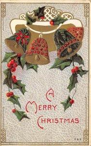 Christmas Day Postcard John Winsch Publishing 1912