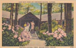 North Carolina Bath House And Concession Building Cliffside Nantahala Nationa...