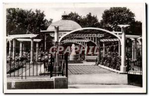 Old Postcard Belfort Square Carlos Bohn The Rose Garden