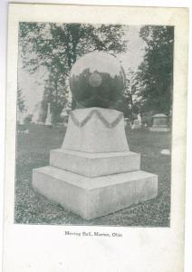 Moving Ball, Marion, Ohio unused Undivided Back Postcard