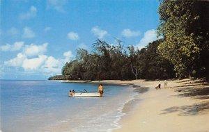 Barbados West Indies Post card Old Vintage Antique Postcard Beach Scene St. J...
