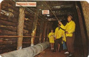 Guided Underground Tour Iron Mountain Iron Mine Iron Mountain Michigan