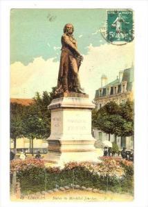 Limoges , France , PU-1918 Statue du Marechal Jourdan