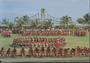 Taiwan Postcard-Annual Harvest Festival of The Ami Aboriginal Tribe,Taipei A4440