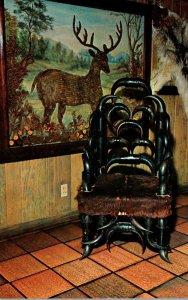 Texas San Antonio Buckhorn Hall Of Horns Teddy Roosevelt's Chair