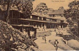 Kasauli , Himachal Pradesh , India , 1900-10s ; The Market