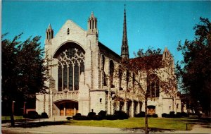 Postcard~Holy Angels Cathedral~Gary, Indiana~A16