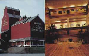 2-views,  Dawson Creek Art Gallery located in the NAR Park,  Dawson Creek,  B...
