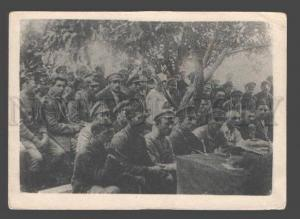 092055 RUSSIAN CIVIL WAR Assembly of red army cell VKP(b) Old