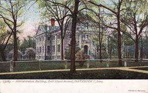 Illinoin Davenport Administration Building Rock Island Arsenal