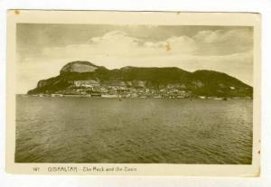 RP  GIBRALTOR, 1910-30s , The Rock and the Town