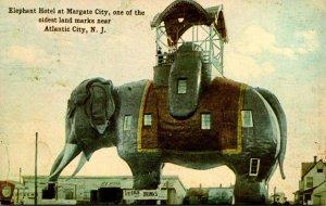 New Jersey Atlantic City Elephant Hotel At Margate City