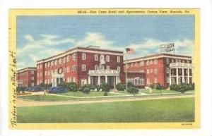 Pine Crest Hotel & Apartments, Ocean View, Norfolk, Virginia, PU-1948