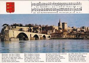 France Avignon Le Pont Saint-Benez Le Palais des Papes