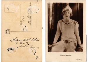 CPA Marion Davies. Iris Verlag foto 682 FILM STAR (557961)