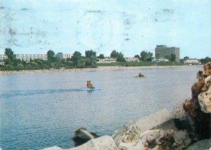 Postcard Romania Mangalia hotel litoral marea neagra