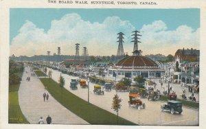 TORONTO , Ontario , 1910s ; Sunnyside Beach , Board Walk