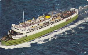 C.N.R. Car Ferry ABEGWEIT , Borden PEI - Cape Tormentine N.B. route , Canad...