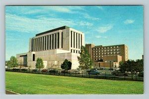 Muncie IN- Indiana, Ball Memorial Hospital, IU Health, Day, Chrome Postcard