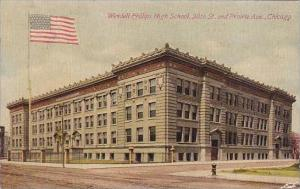 Illinois Chicago Wendell Phillips High School 38th Street And Prairie Avenue
