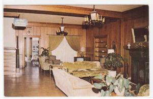 Clewiston Inn Lobby Florida postcard