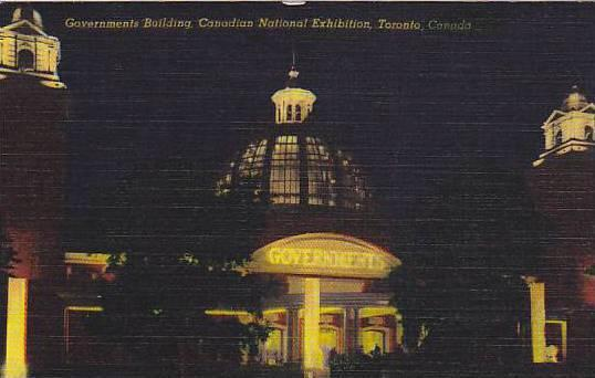 Governments building, Canadian National Exhibition, Toronto, Canada, 30-40s
