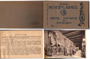 Booklet - Musee De L'Armee - 11 Cards