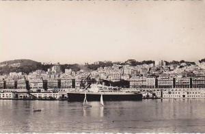 RP: ALGER , Ocean LIner in port , 20-40s