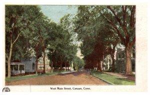 Connecticut  Canaan , West Main Street