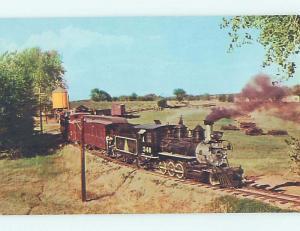 Unused Pre-1980 OLD STEAM TRAIN AT MUSEUM Golden Colorado CO d9455