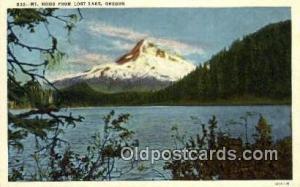Mt Hood Lost Lake OR Unused