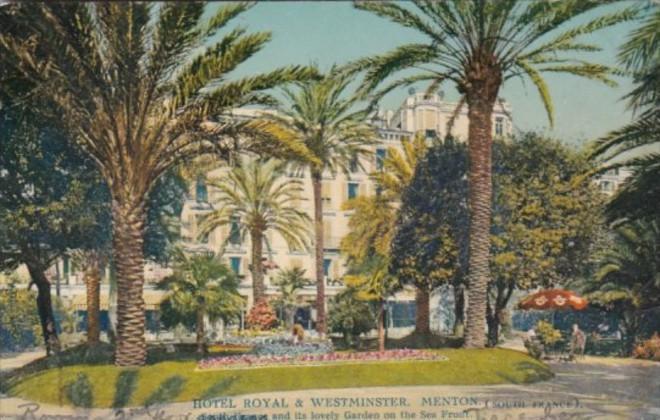 France Menton Hotel Royal & Westminster
