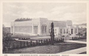 Life Science Building University Of California Berkeley California Albertype