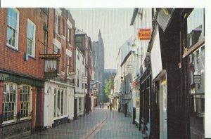 Herefordshire Postcard - Church Street, Hereford - Ref 18206A