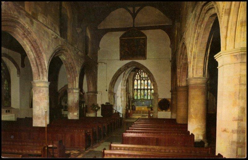 United Kingdom Post card - The Parish church of St.Mary Rye, Sussex, unused