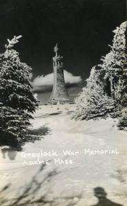 MA - Adams. Greylock War Memorial  *RPPC