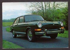 VW Volkswagon Car Auto Automobile Type 3 Postcard Beard Motors Augusta Maine ME