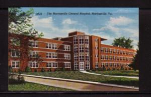 Virginia PC Martinsville General Hospital  unused