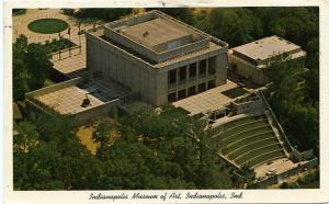 The Indianapolis Museum of Art - Indianapolis IN, Indiana - pm 1973