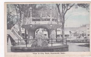 HUMBOLDT, Nebraska, 1900-10s; View in City Park