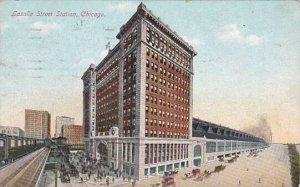 Illinois Chicago Lasalle Street Station
