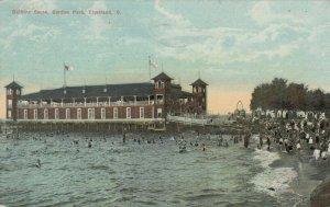 CLEVELAND, Ohio, PU-1912; Bathing Scene, Gordan Park