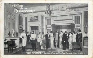 Theatre de la Renaissance EN GARDE comedie Mrs. Alfred Capus et Pierre Veber