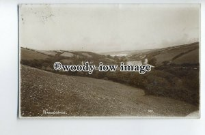tp9038 - Cornwall - View across the Valley to Village of Perrancombe - postcard