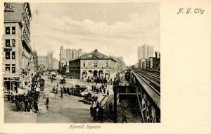 NY - New York City. Herald Square