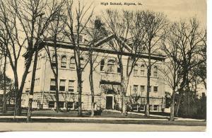 US    PC378   HIGH SCHOOL, ALGONA, IA