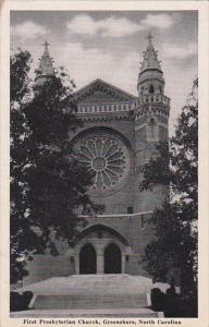 First Presbyterian Church, Greensboro, North Carolina, 40-60's